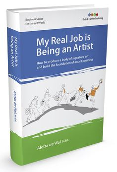 My Real Job is Being an Artist cover