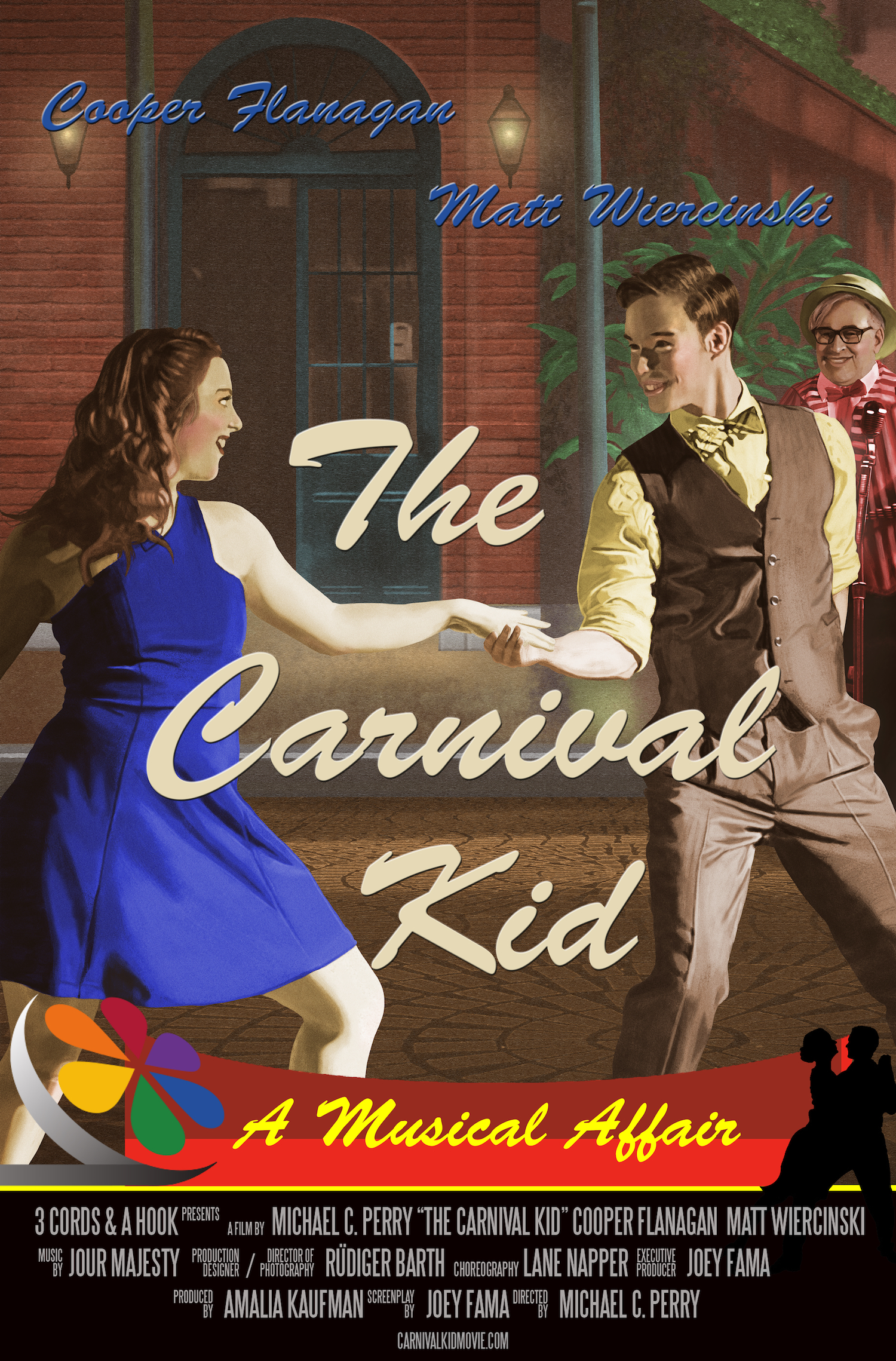 The Carnival Kid musical film poster