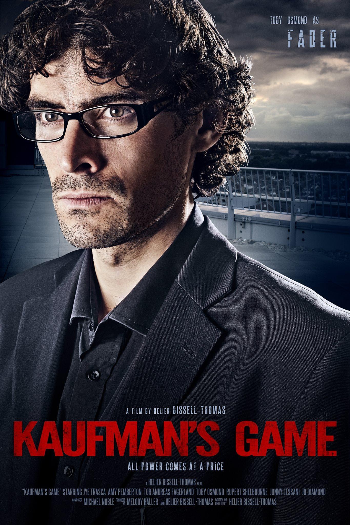 Toby Osmond in Kaufman's Game