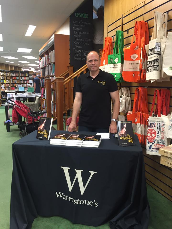 Jonathan Posner independent author in store