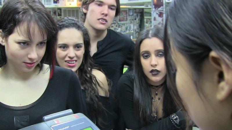 Goths in Fanatikal indie movie