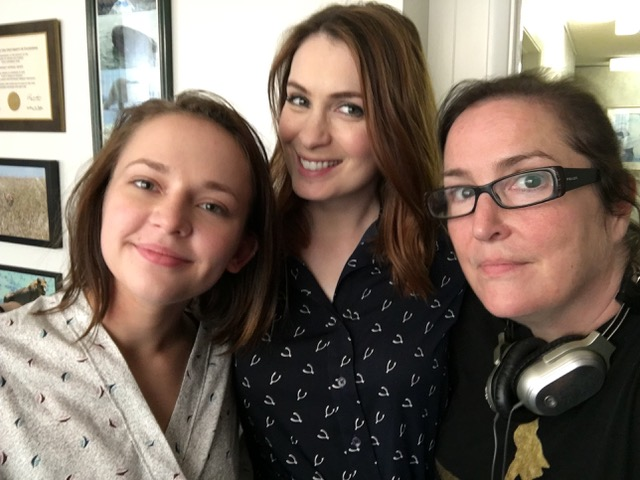 Alexis G Zall, Felicia Day, and Jillian Armenante