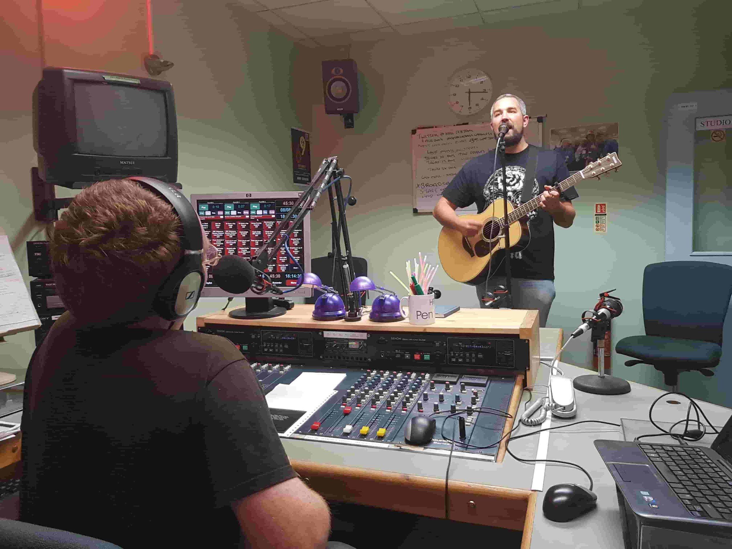 In the studio with Jon Magnusson indie folk artist