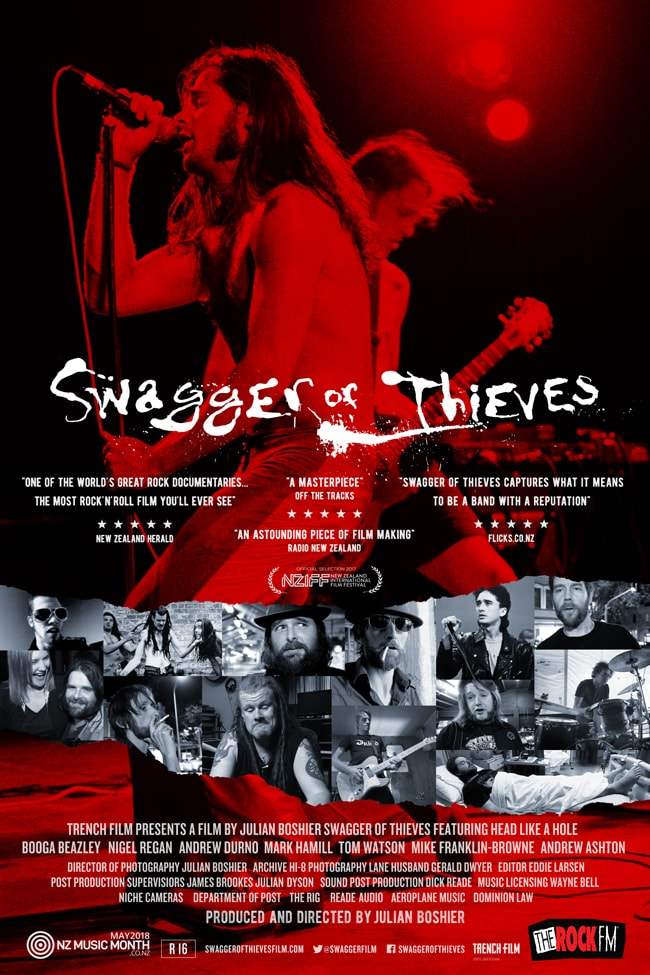Swagger of Thieves indie documentary poster