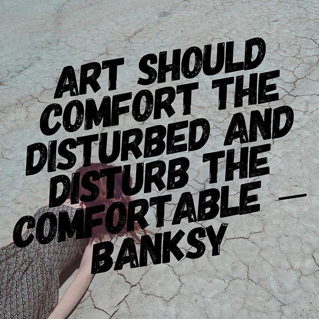 Is your art disturbing?