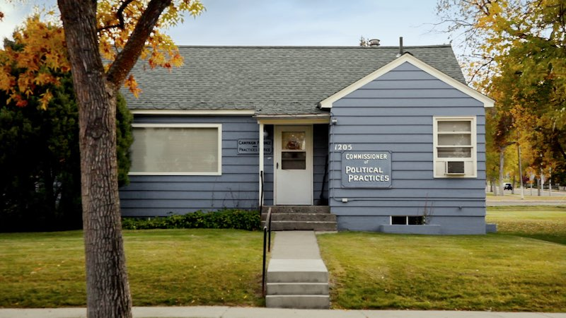 Montana Commission of Political Practices building, from DARK MONEY a PBS Distribution release