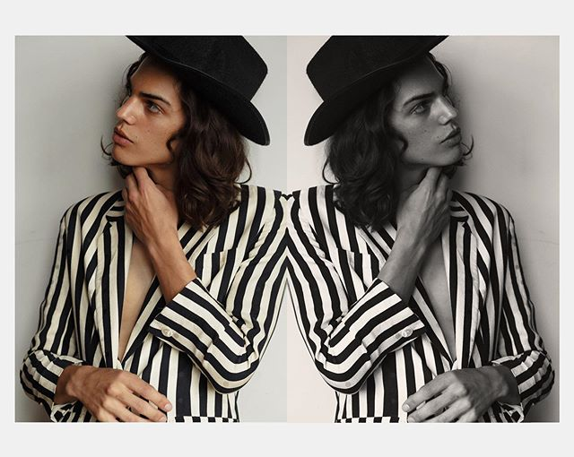 Skylar @newyorkmodels // Shoot 408 featuring my cheap Halloween cowboy hat