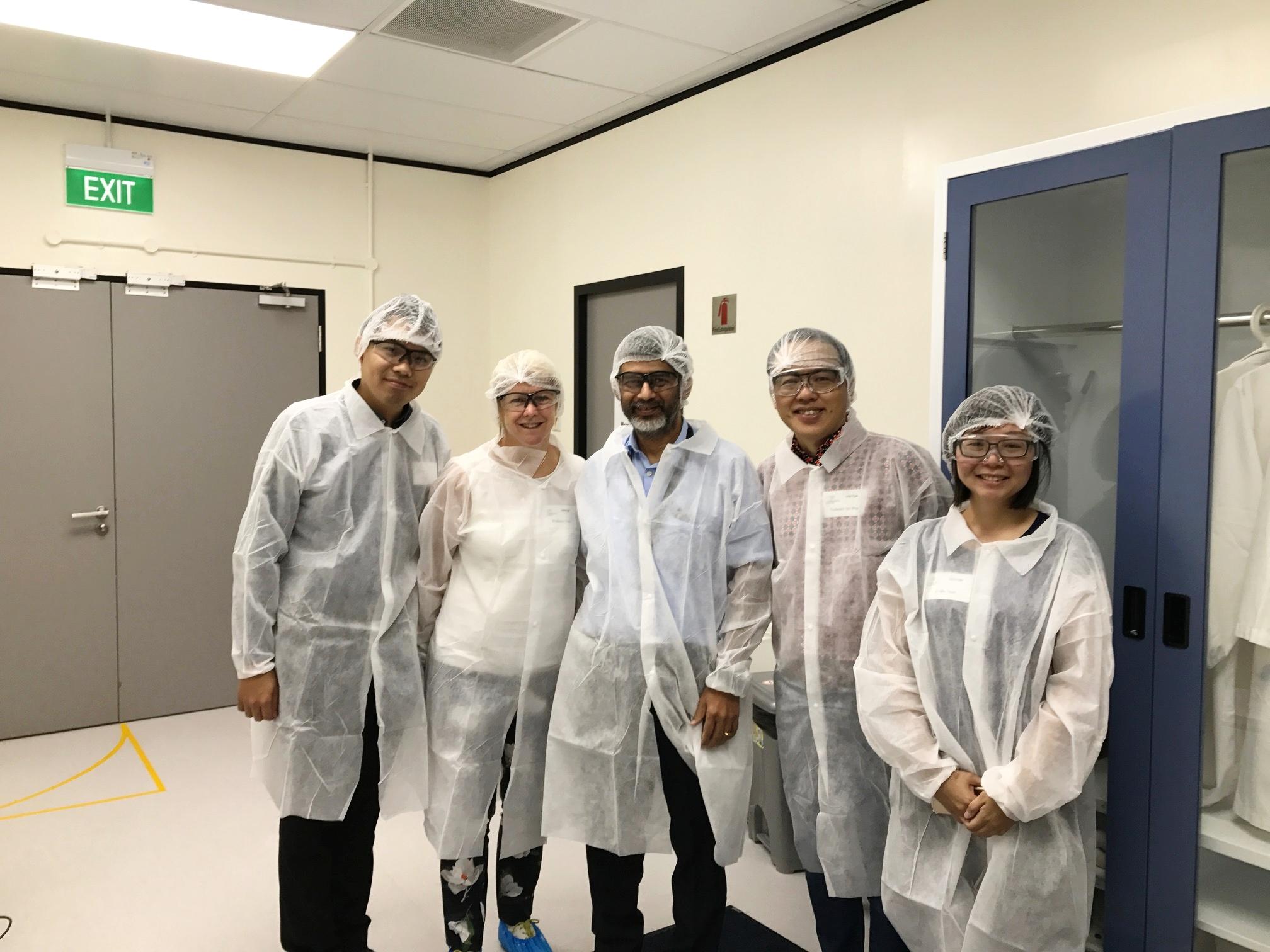 LBRC Team Head to DuPont Singapore Innovation & Development Hub