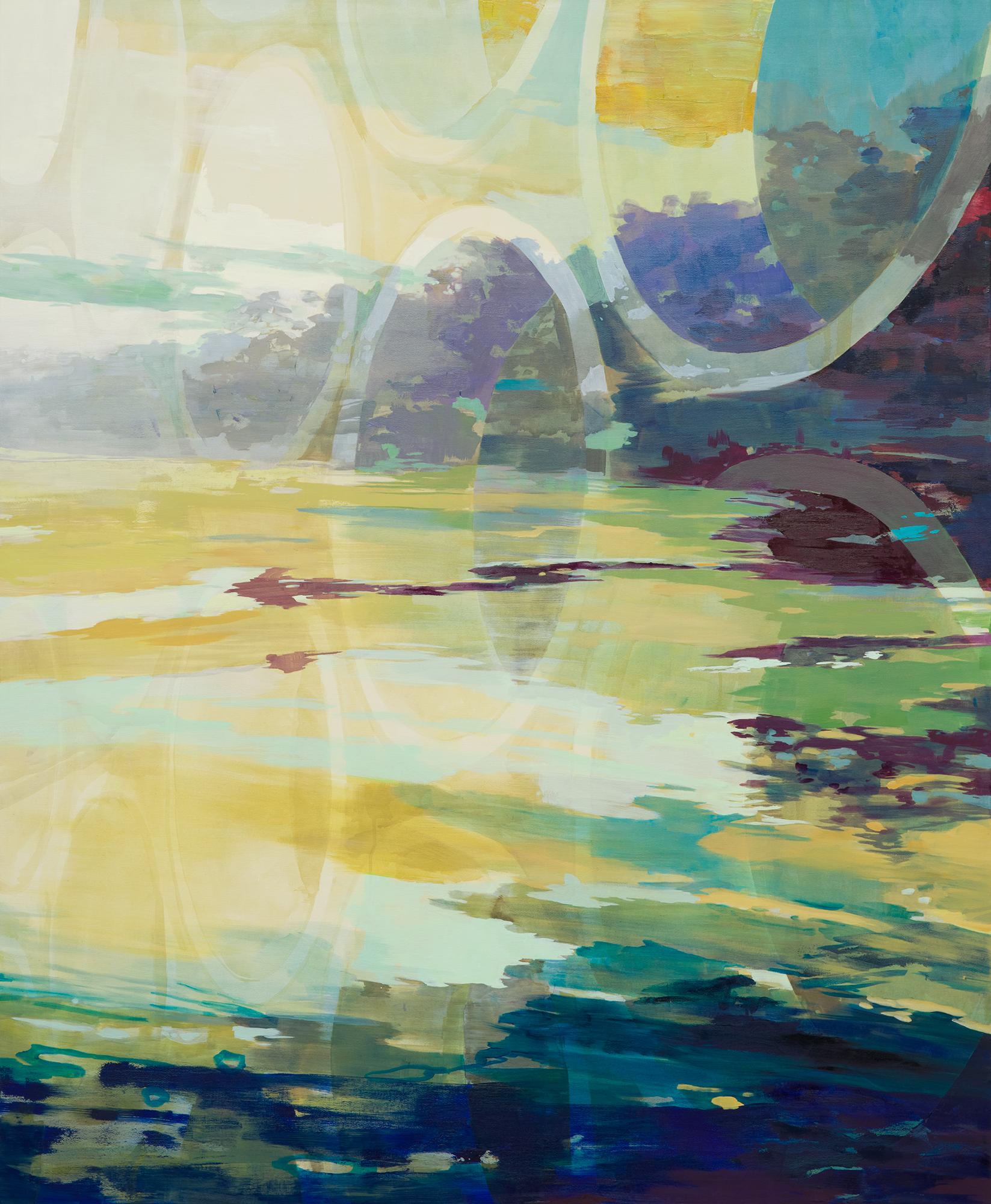 Südwest, 2014, 170 x 140 cm, oil on canvas