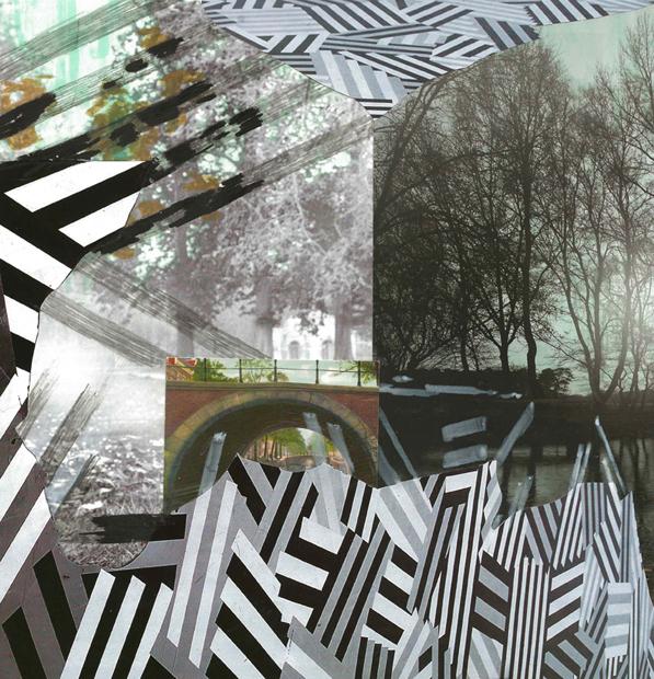 Canal, 2012, 28 x 27 cm