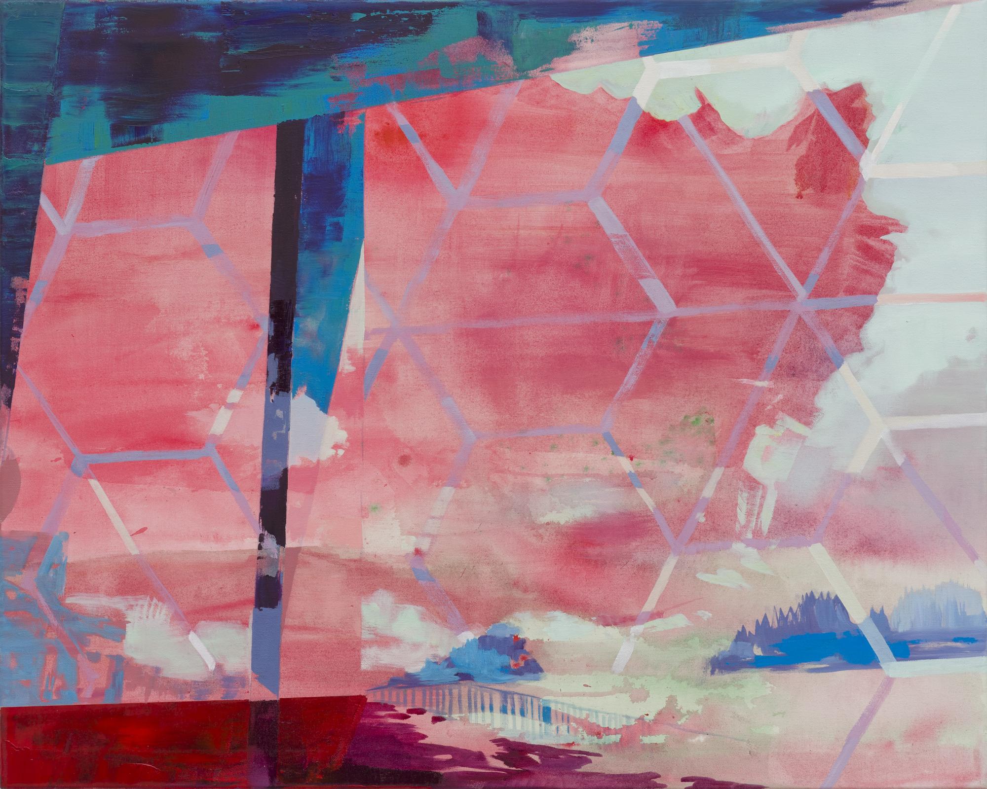 Bleach, 2015, 80 x 100 cm, oil on canvas