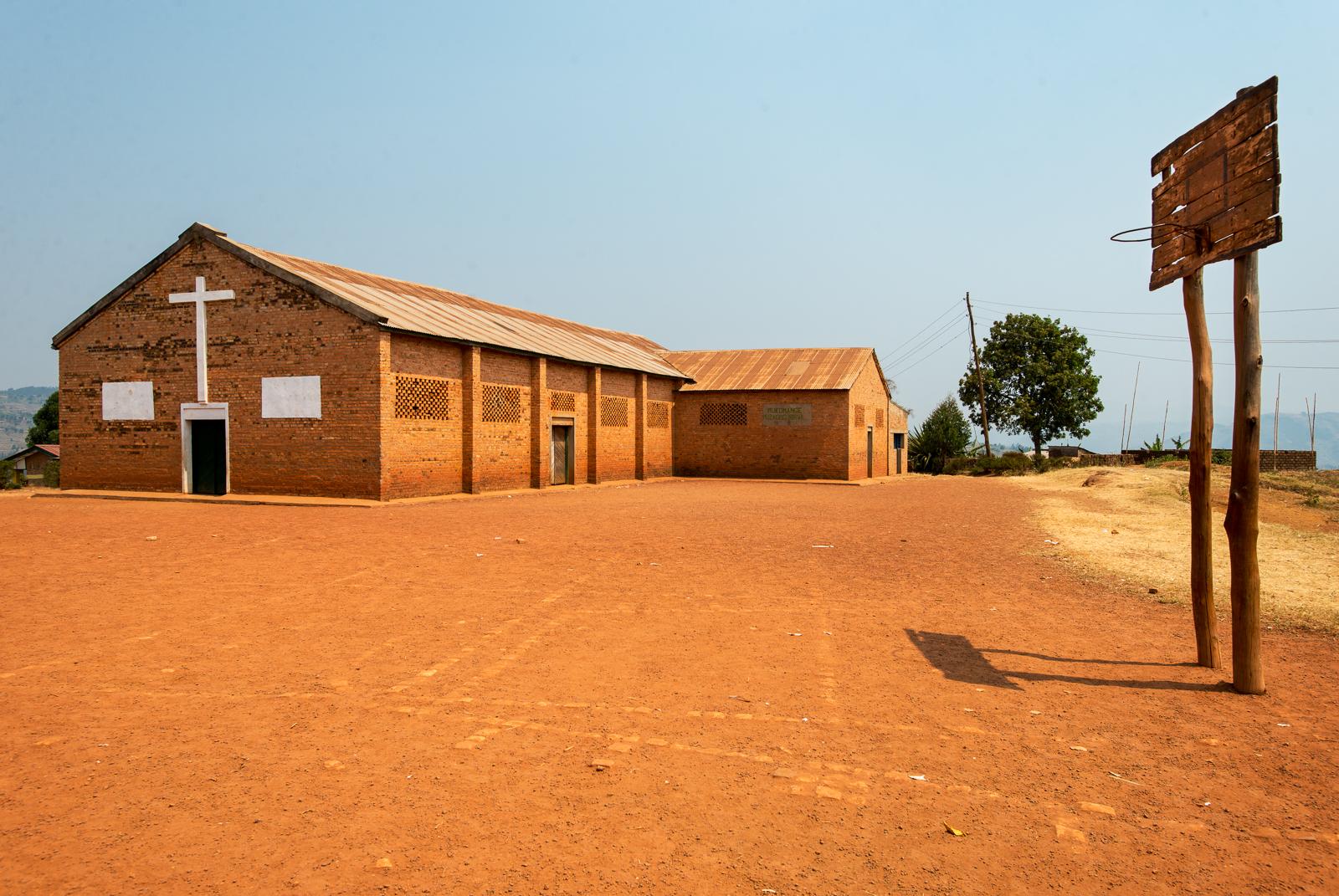 Church Playground, Kinihira, Rwanda, 2013.