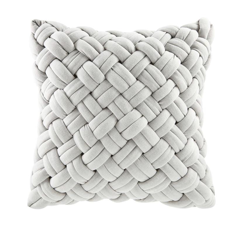 Grey Woven Cushion £45.98