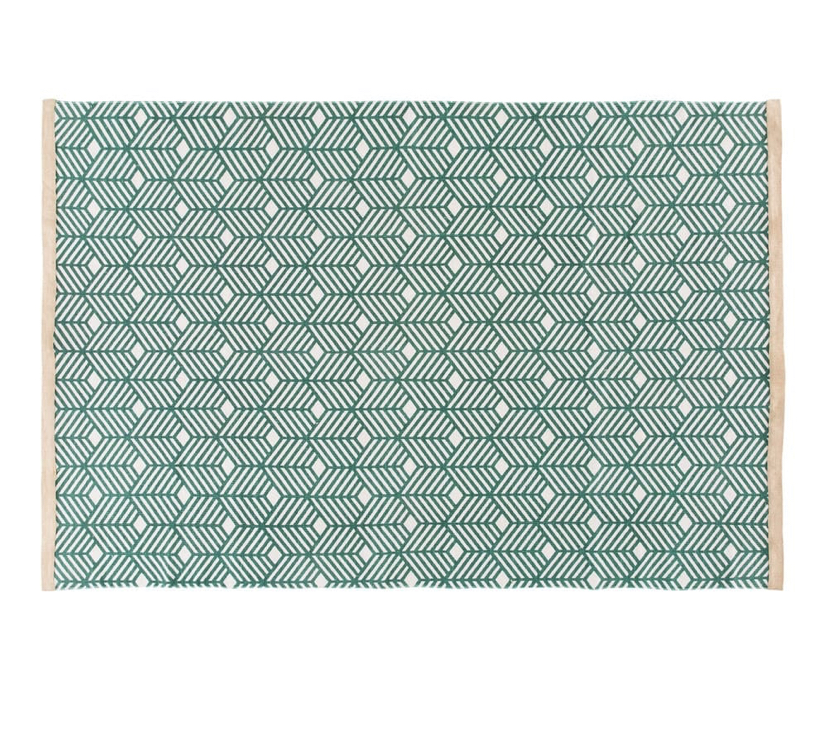 Green Graphic Rug £103.50