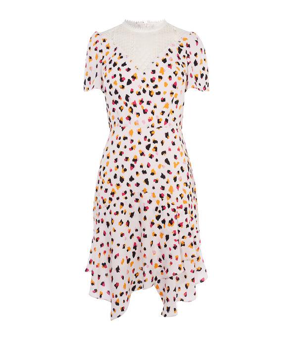 Asymmetric Leopard Dress £199