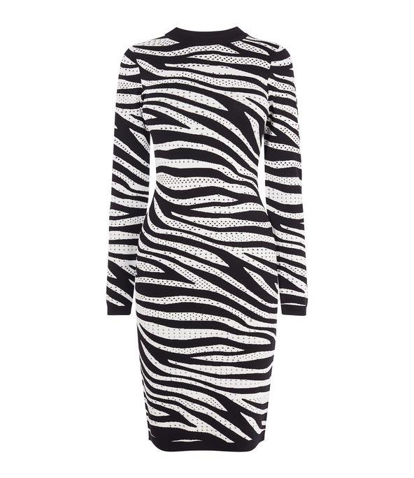 Zebra Knit Bodycon £140