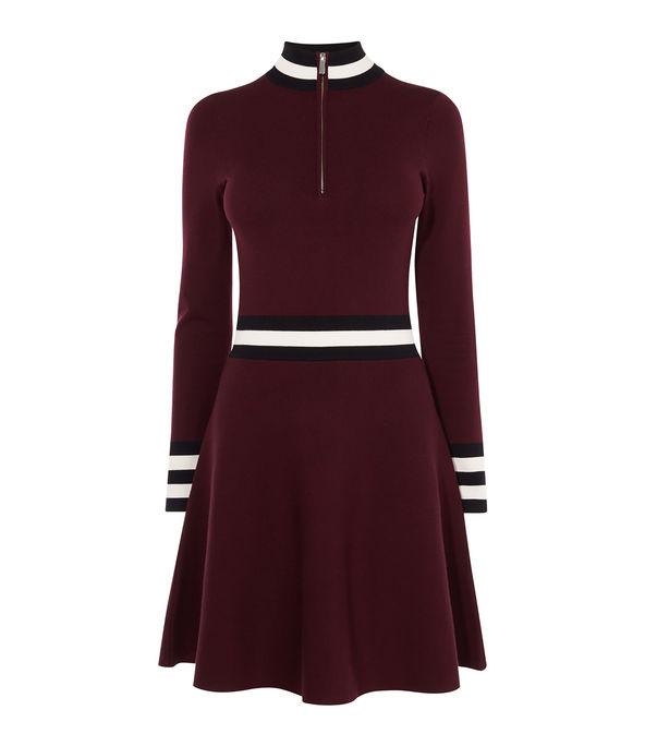 Sporty High Neck Dress £140