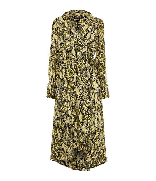 Snake Print Dress £199