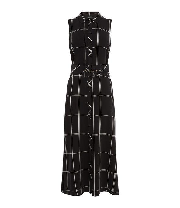 Oversized Check Dress £199