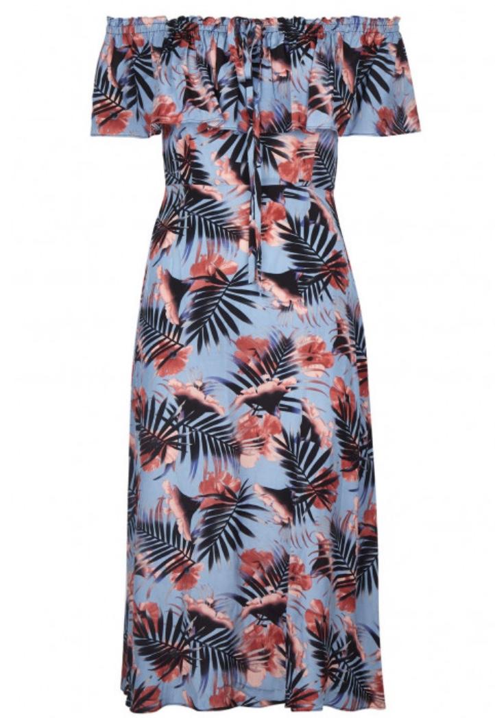 Aesthete Palm Off Shoulder Dress £99