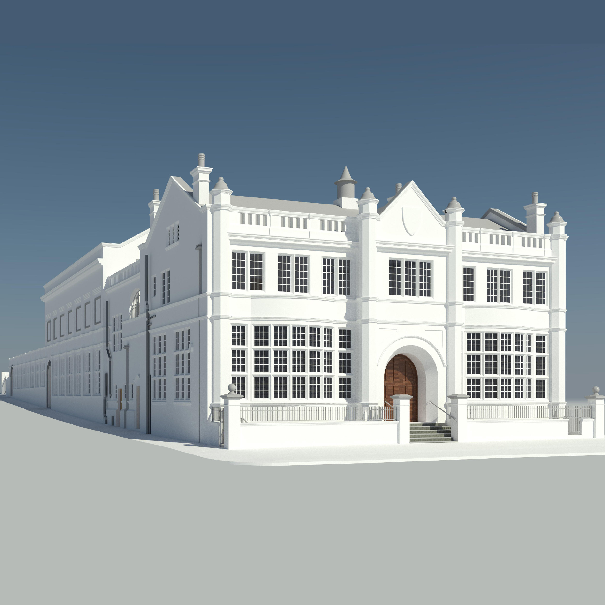 Plumstead Library - Sector: HeritageLocation: LondonOur Client: GleedsEnd User: Hawkins Brown