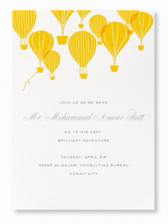 Join Us - Join our office lunch honoring Mr. Mohammed Anwar as we wish him good luck on his next adventure