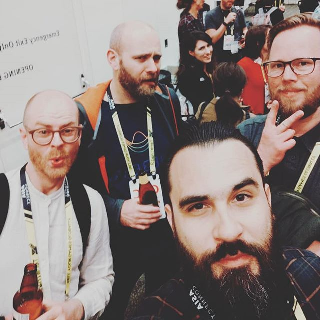 Bunch of game audio misfits. #gdc2019 #gameaudiogdc #gameaudio #composition #sounddesign
