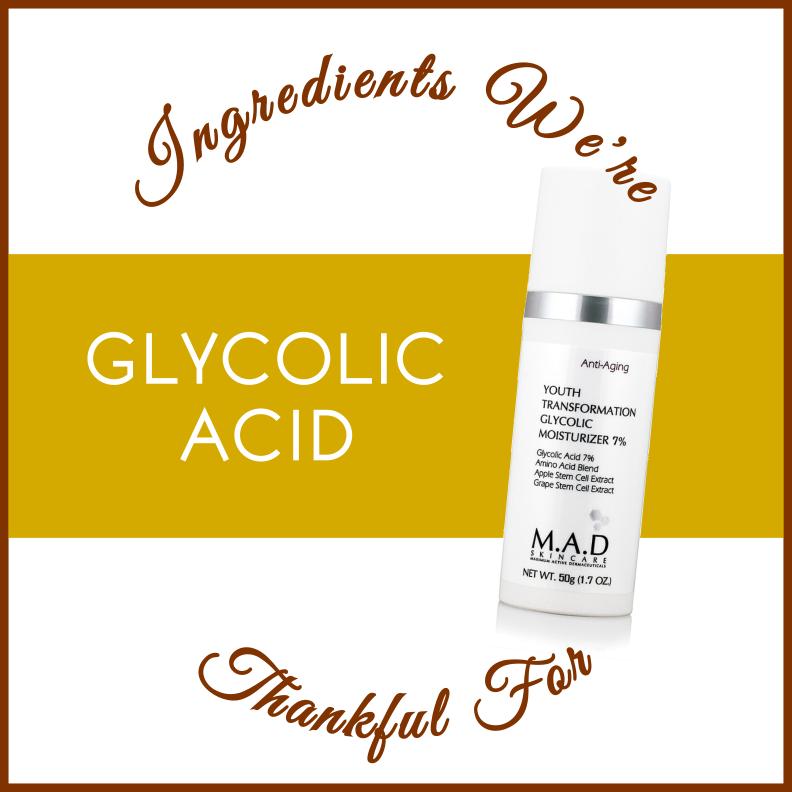 Glycolic Acid in skincare