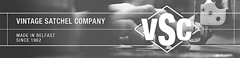 vintage satchel company logo