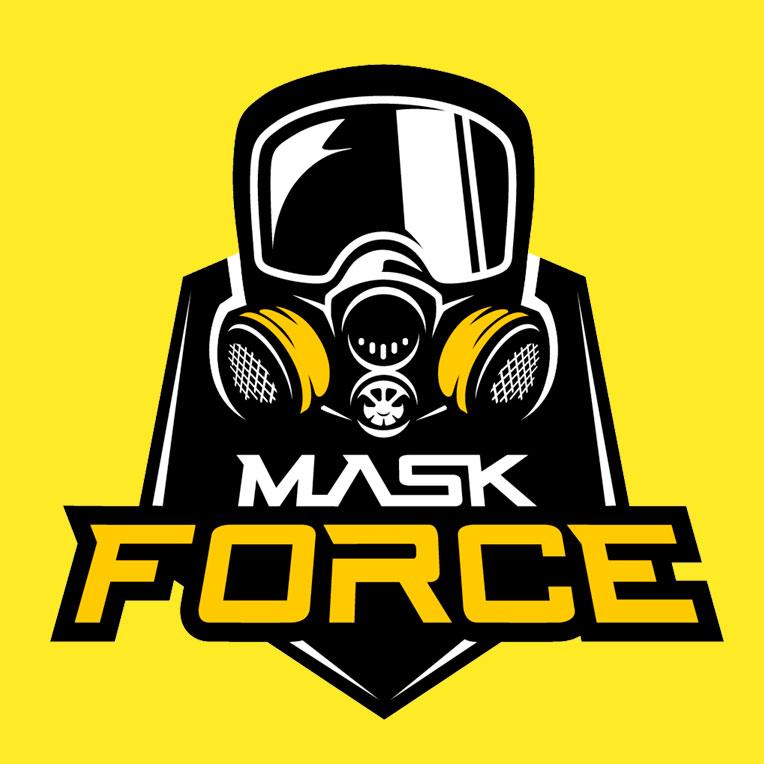 mask force logo