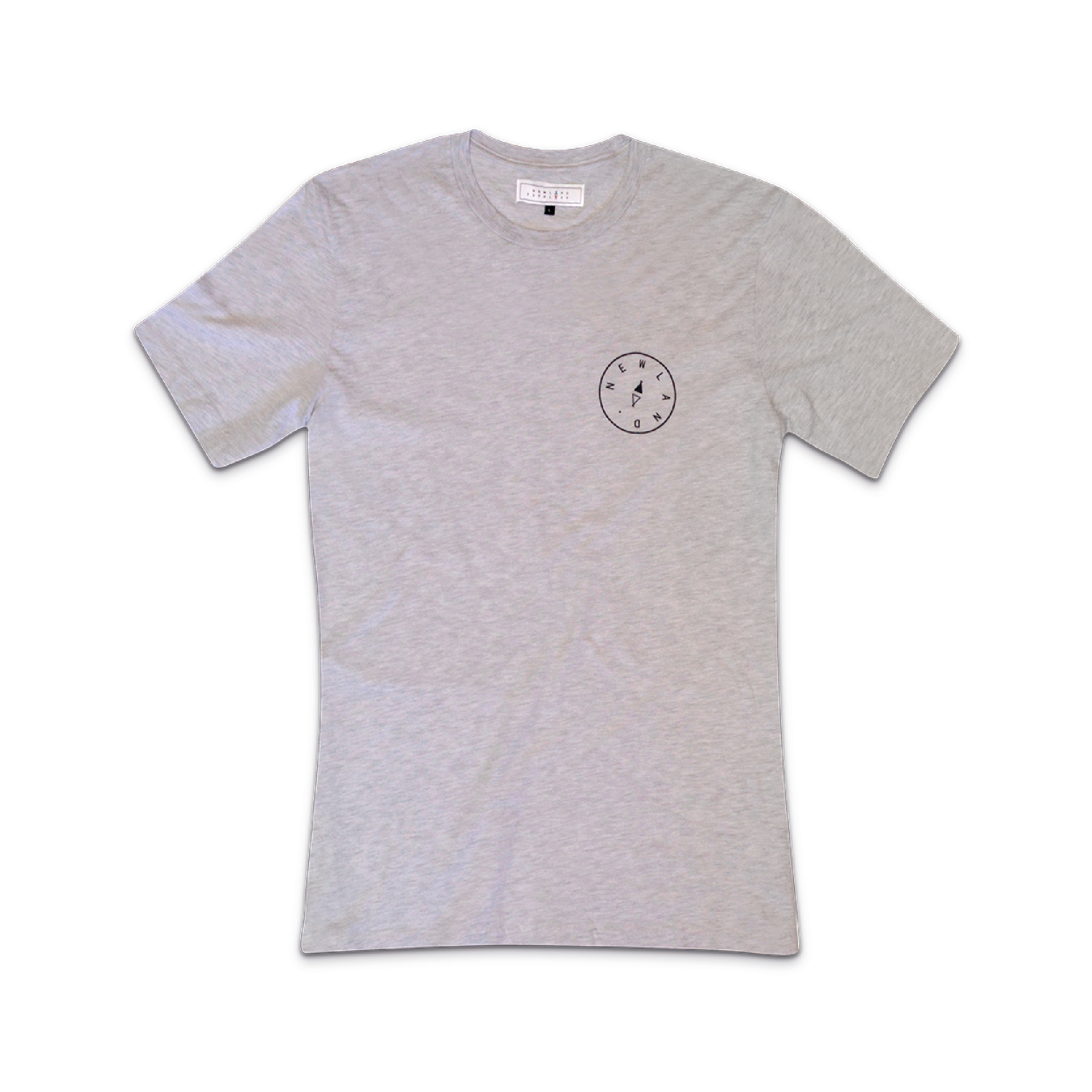 PEVERIL tee in ash    By  Newland Supply Co.     A ring-spun cotton classic with Newland print on the front & our compass detailing on the back.    SHOP NOW          £24