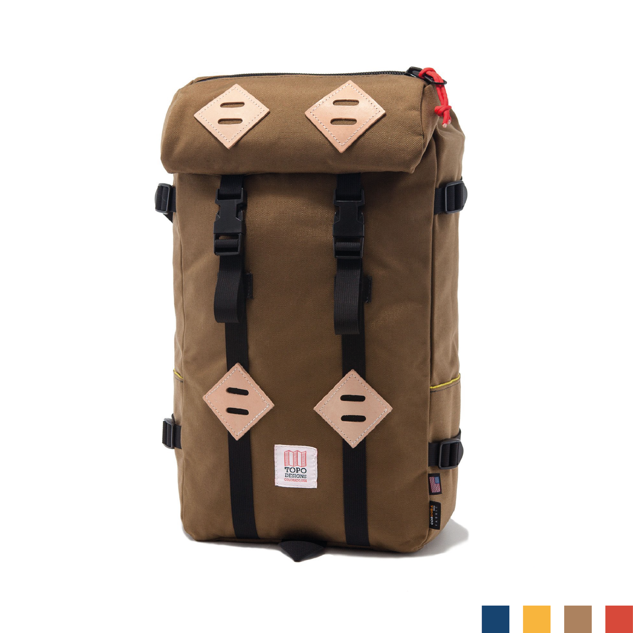 KLETTERSACK    By  Topo Designs     The classic and rugged 22L backpack to join you on all adventures big or small.    SHOP NOW          £160
