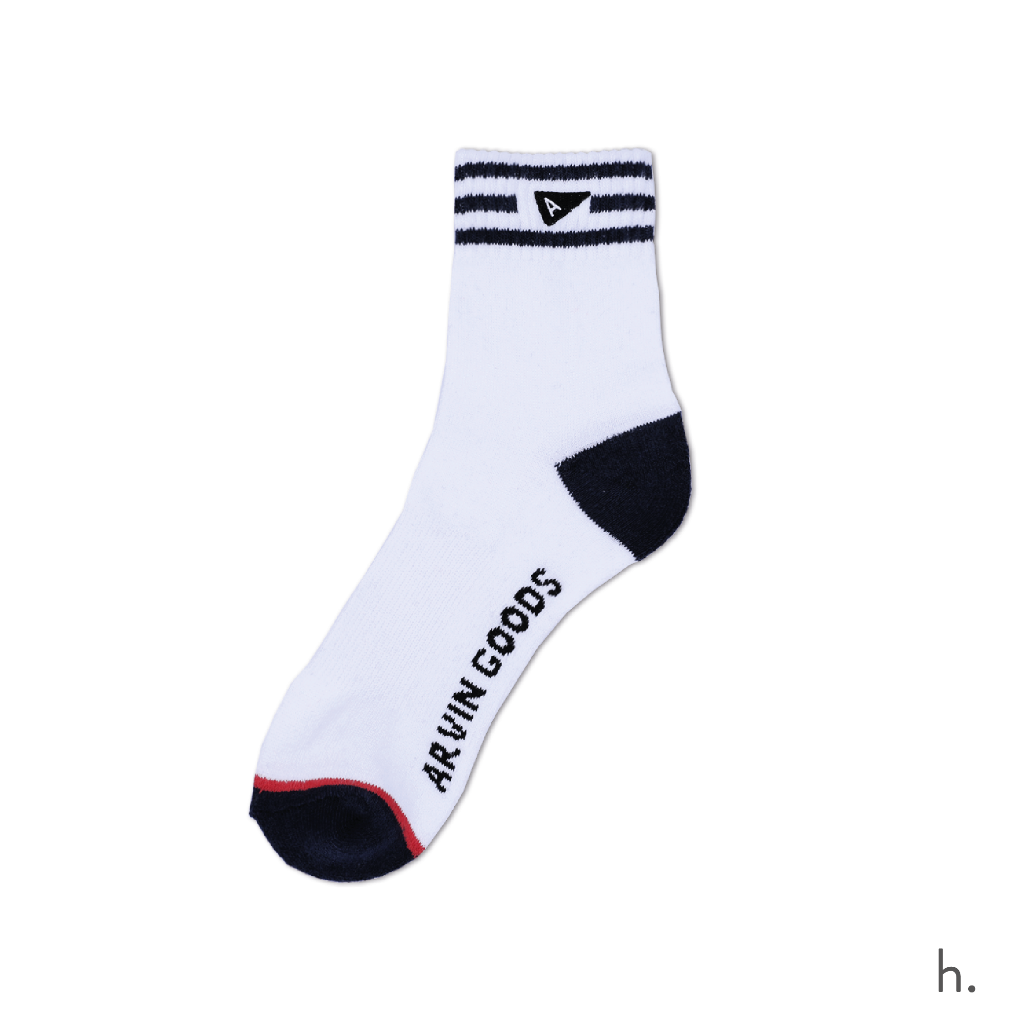 h. Black & White Crew Sock-01-01.png