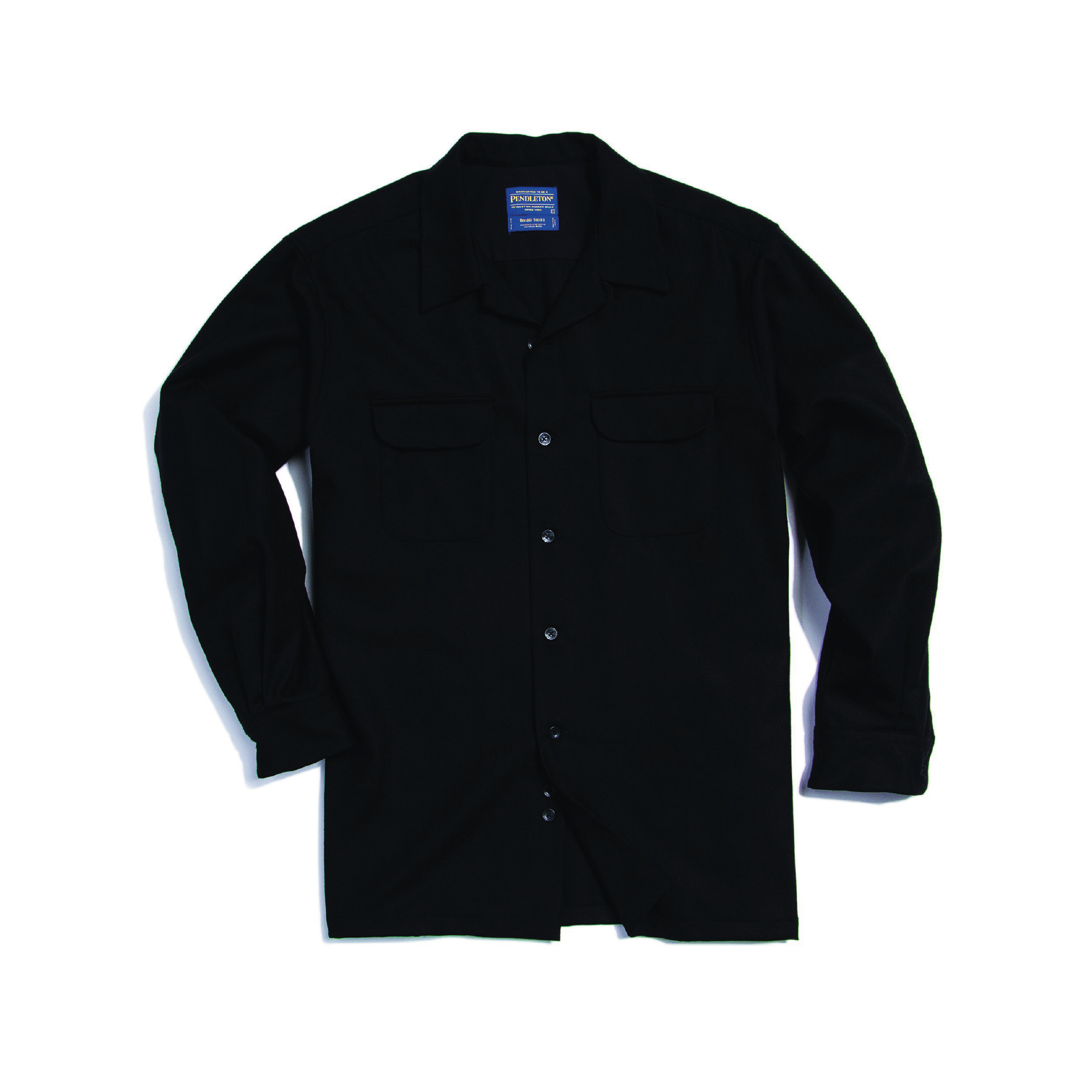 BLACK BOARDSHIRT    By  Pendleton     The original board shirt made famous by the beach boys, ready to tackle the woods, mountains, surf, and of course your daily commute.    SHOP NOW          £95
