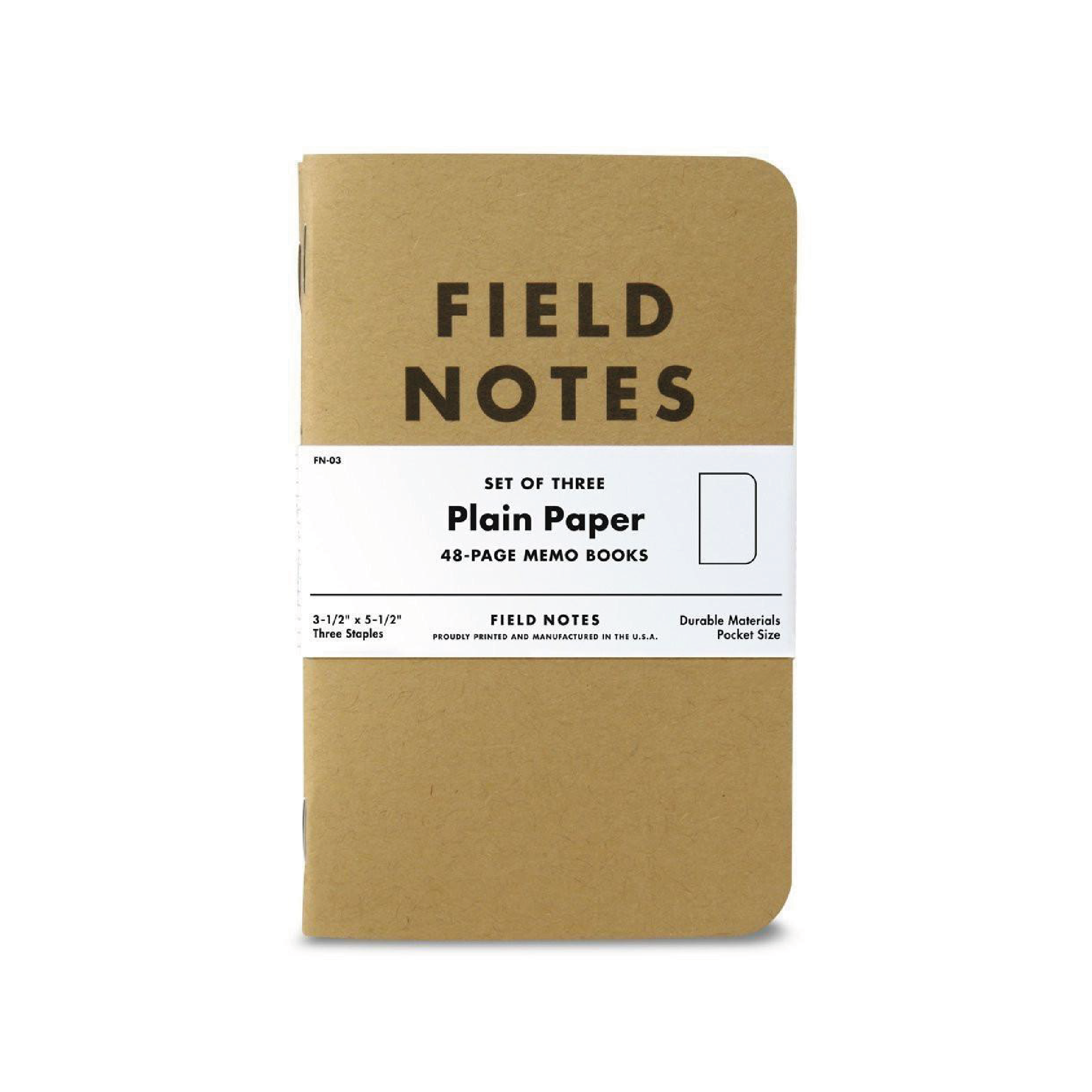 ORIGINAL KRAFT 3 PACK    By  Field Notes     The notebook of choice for a modern outdoor lifestyle.    SHOP NOW          £7