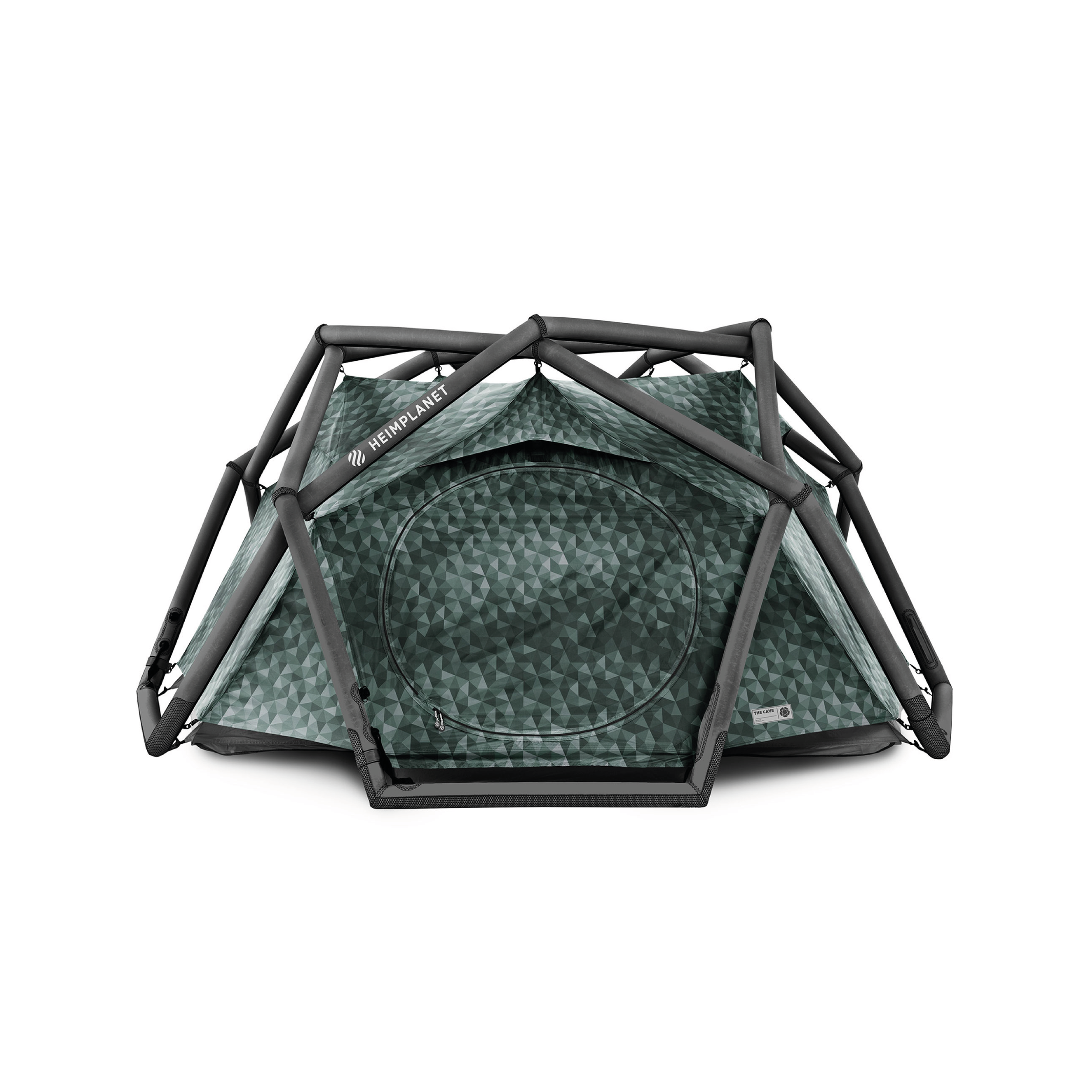 CAVE TENT    By  Heimplanet     The best inflatable tent for the budding explorer who needs a quick set up to bunk down for the night.    SHOP NOW      £420