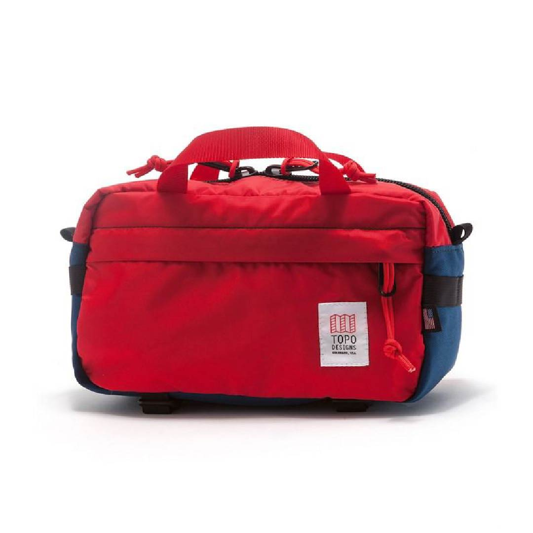 LIGHT HIP PACK    By  Topo Designs     Attach it to your hip or sling it over your shoulder, this Hip Pack is the perfect companion to keep all of your belongings safe in an ideal sized pack.    SHOP NOW          £80