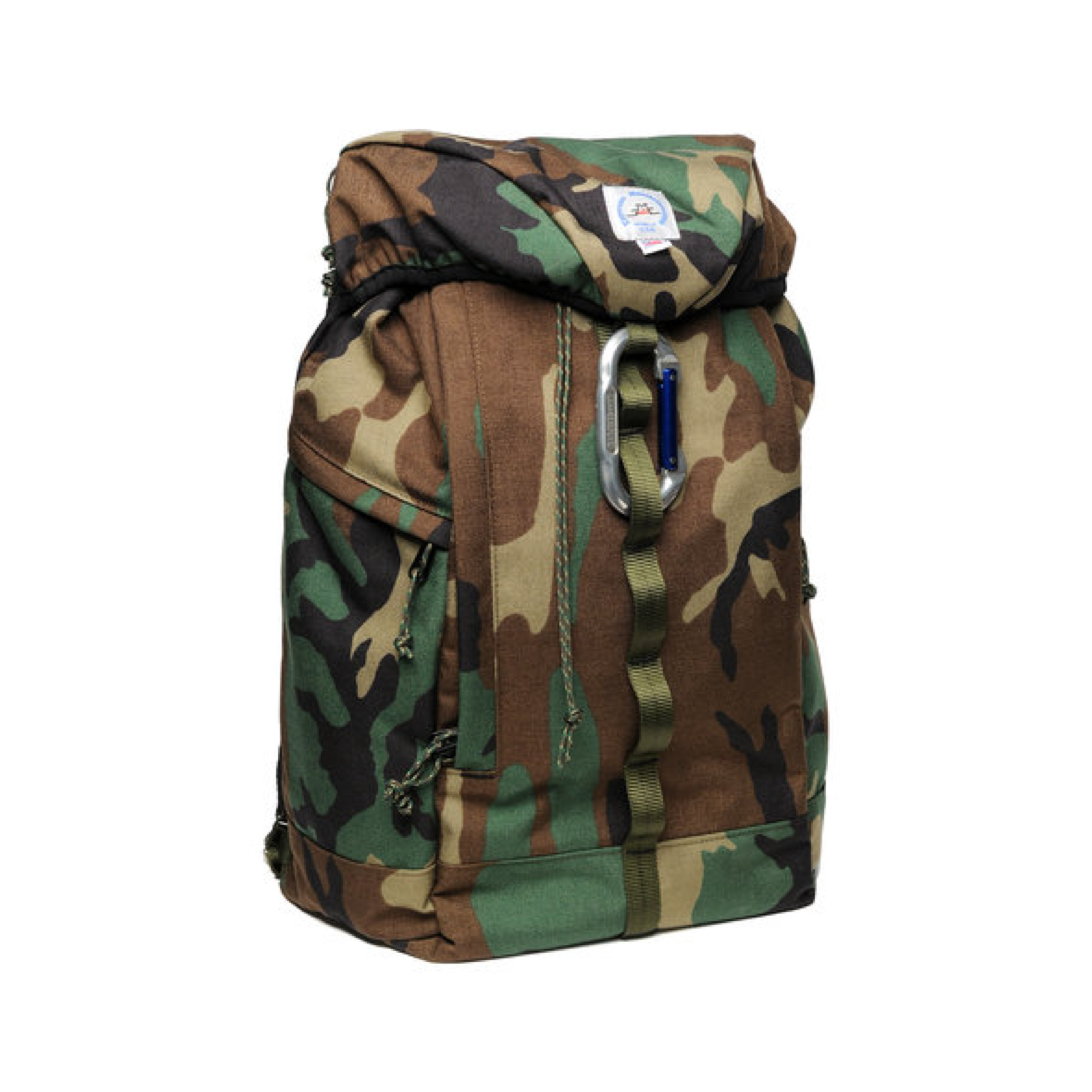 LARGE CLIMB PACK (CAMO)    By  Epperson Mountaineering     A rugged pack inspired by climbers with enough pockets and webbing loops to carry all your gear, plus more.    SHOP NOW          £140
