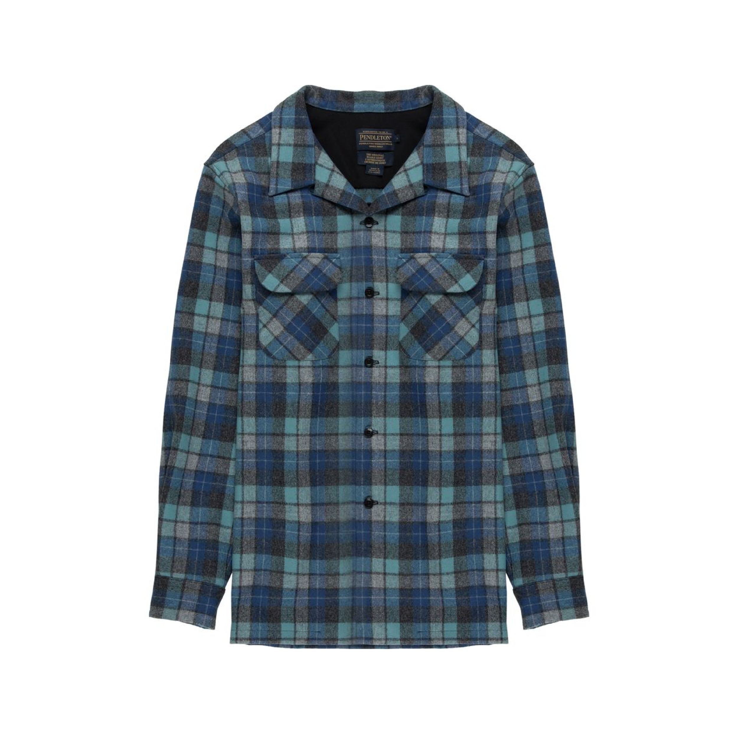 BLUE BOARDSHIRT    By  Pendleton     The perfect shirt to sit by a campfire, take a hike or roll to work in.    SHOP NOW          £95
