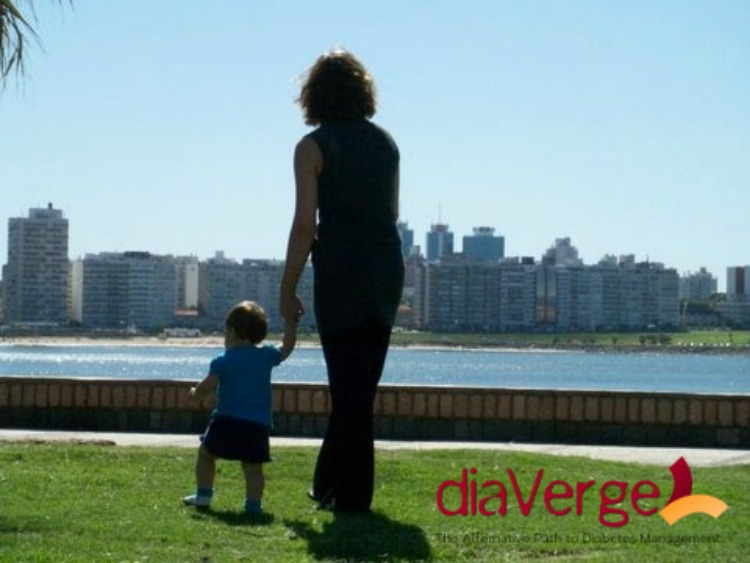Montevideo, Uruguay, daughter #1 15 months old. March 2009