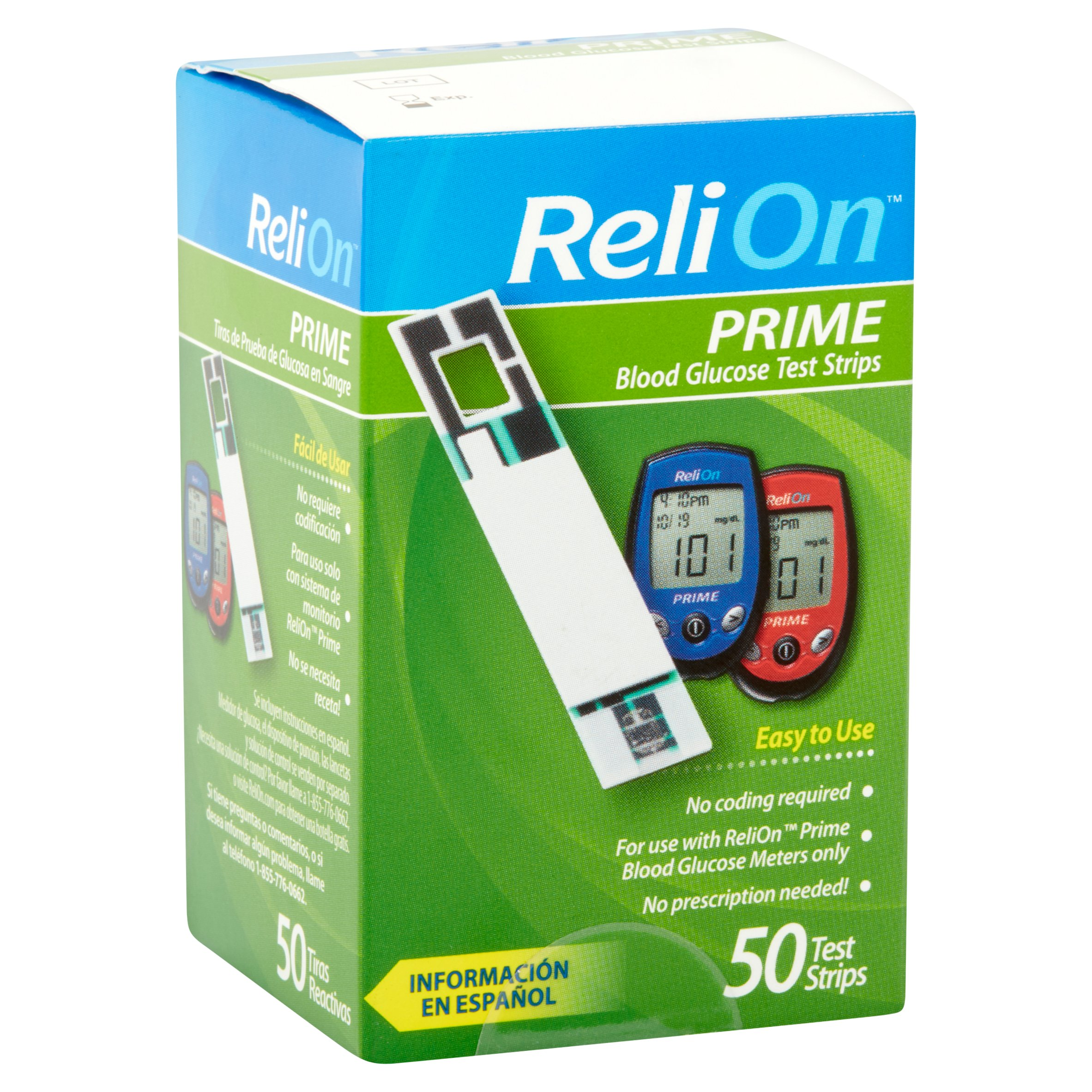 Example of Walmart's ReliOn products.