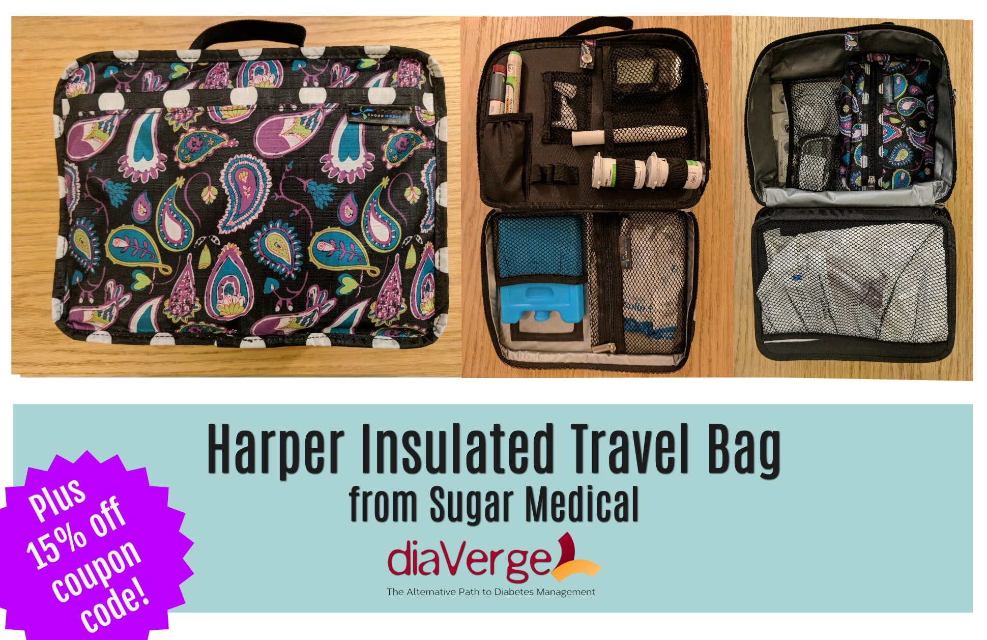 Harper Insulated Travel Bag From Sugar
