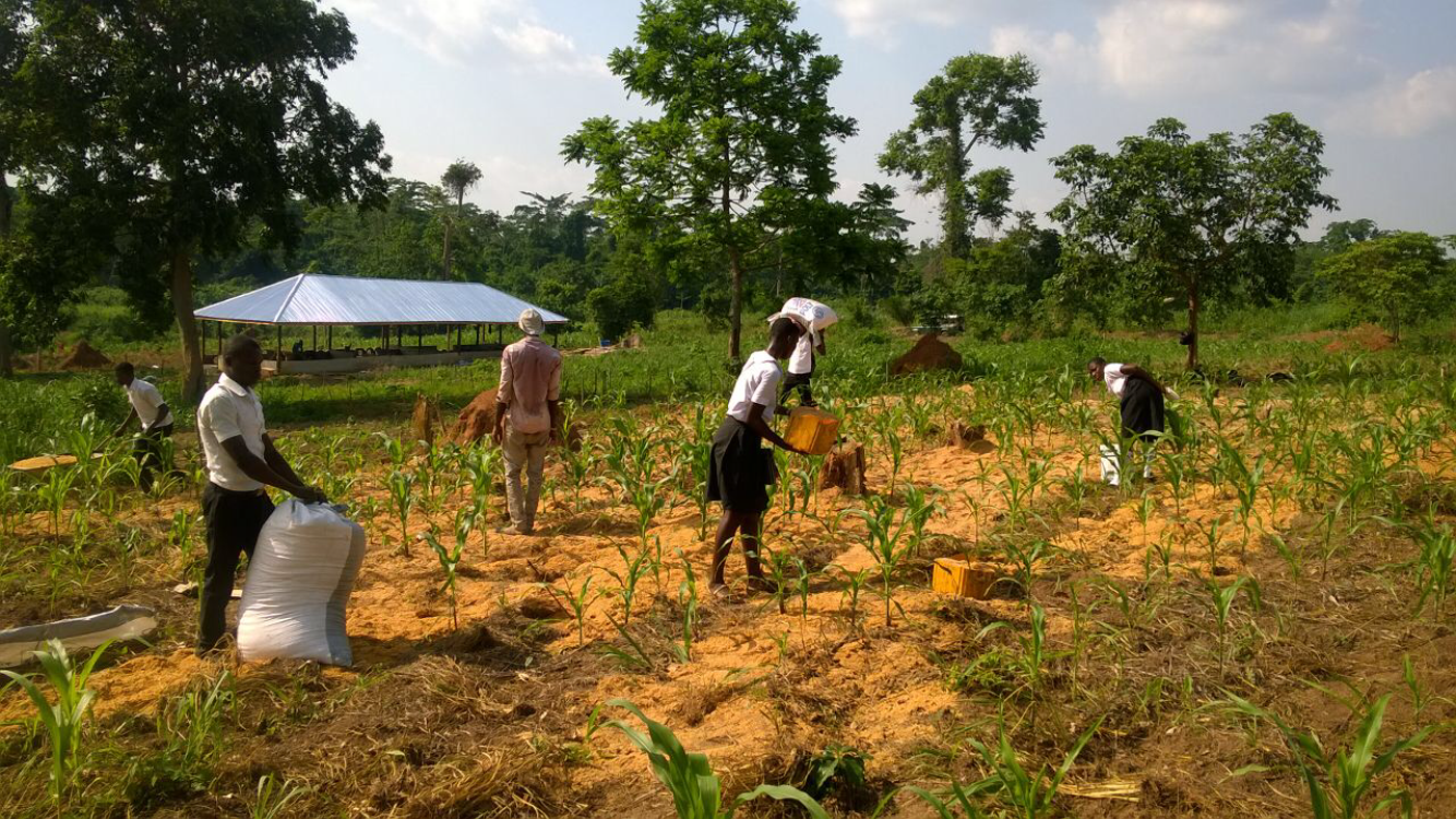 30. Students helping on the Farm - April 2016.PNG