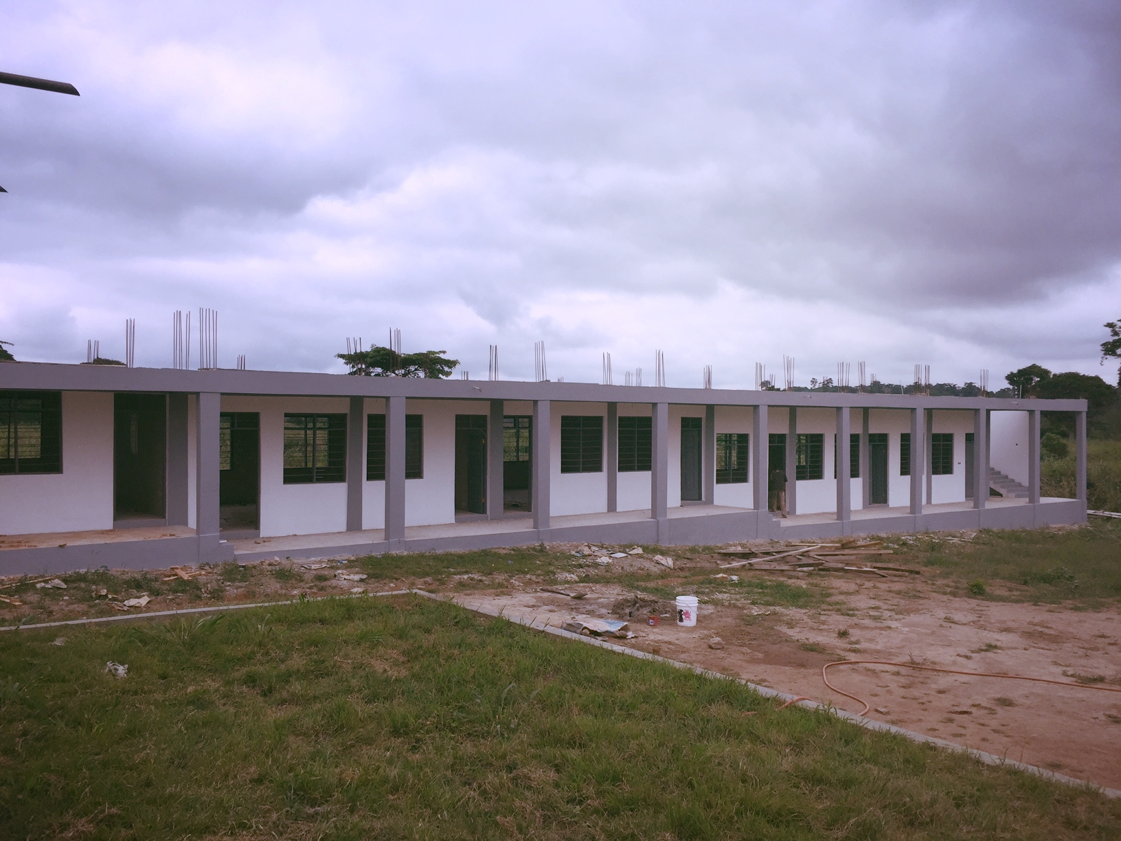Phase 2 nearly finished (August 2017).JPG