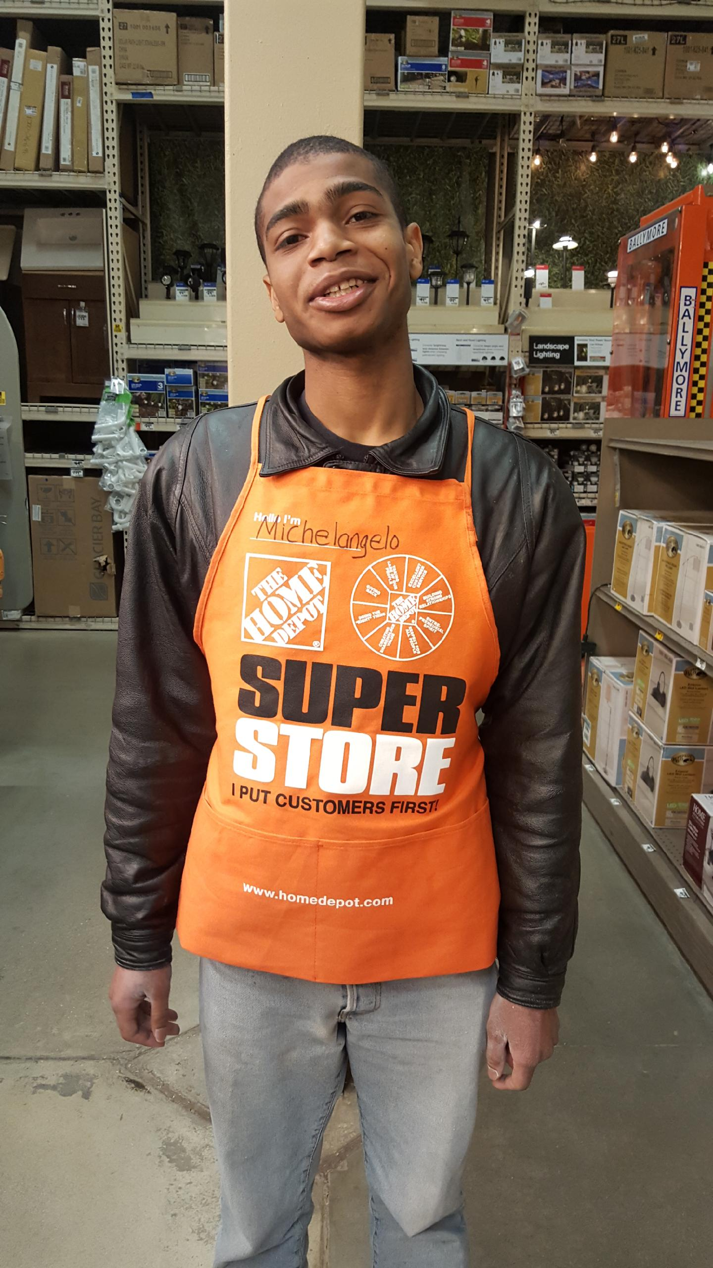 Michelangelo L. - Our newest Employment Success Story comes from Michelangelo L. who recently graduated from Inroad's Cleaning Management Certificate Program. Michelangelo is eager to work and was employed by The Home Depot. We are very proud of him!