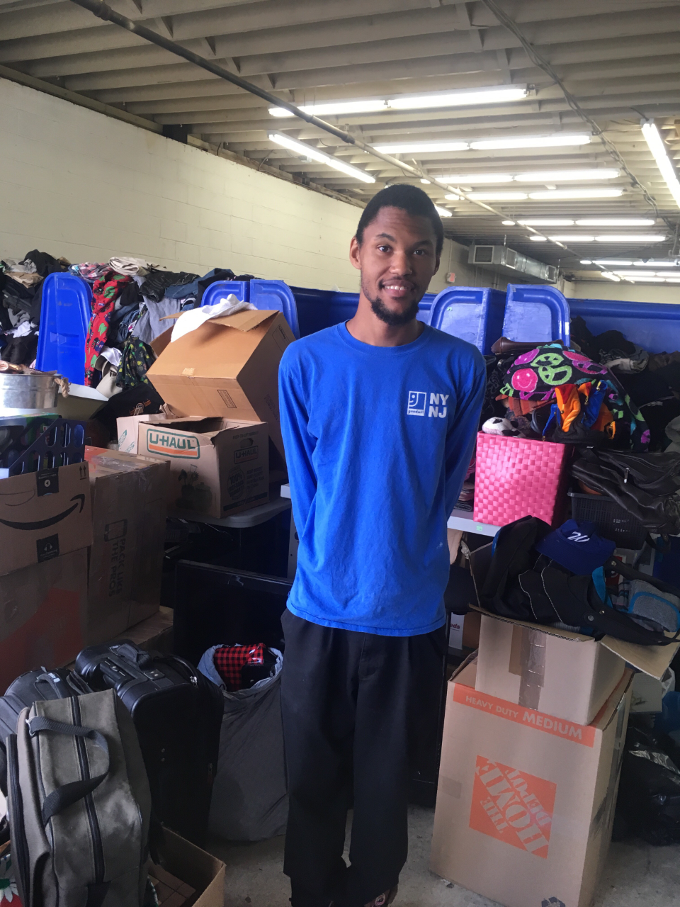 Richard J. - Where do you work? I work at Goodwill in Springfield, New Jersey.How long have you worked there? I've been working here since September 2018.What are you job duties? I am responsible for taking in and sorting donations. Sometimes I build cages for the items to be organized in. Do you like working at Goodwill? Yes, especially with my co-workers. Tell us about your experience working with Inroads? They helped me to find this job and they are a good support system. What do you like to do for fun? I like to go out with my family members whenever I have extra time.