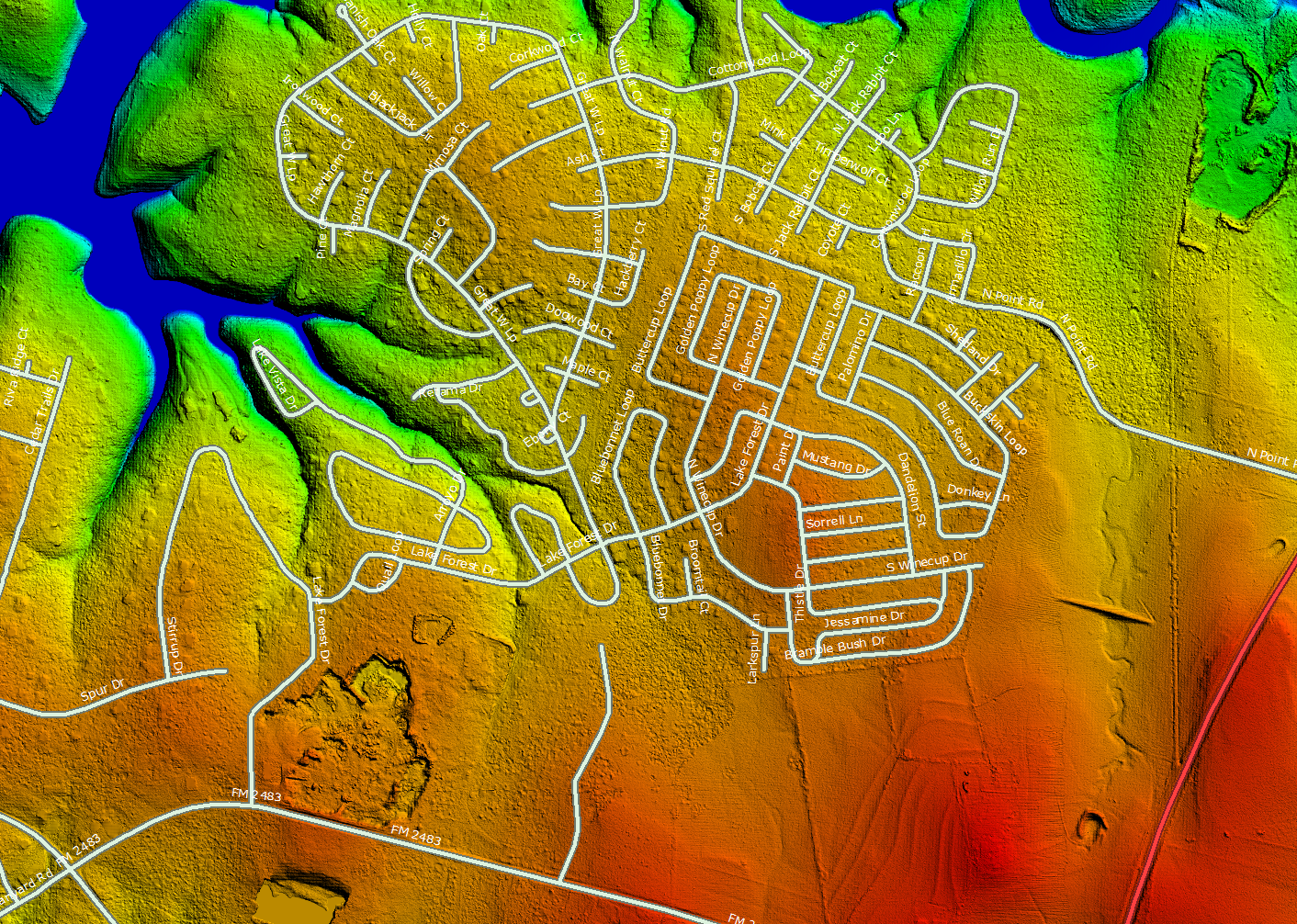 LiDAR Surface Generation