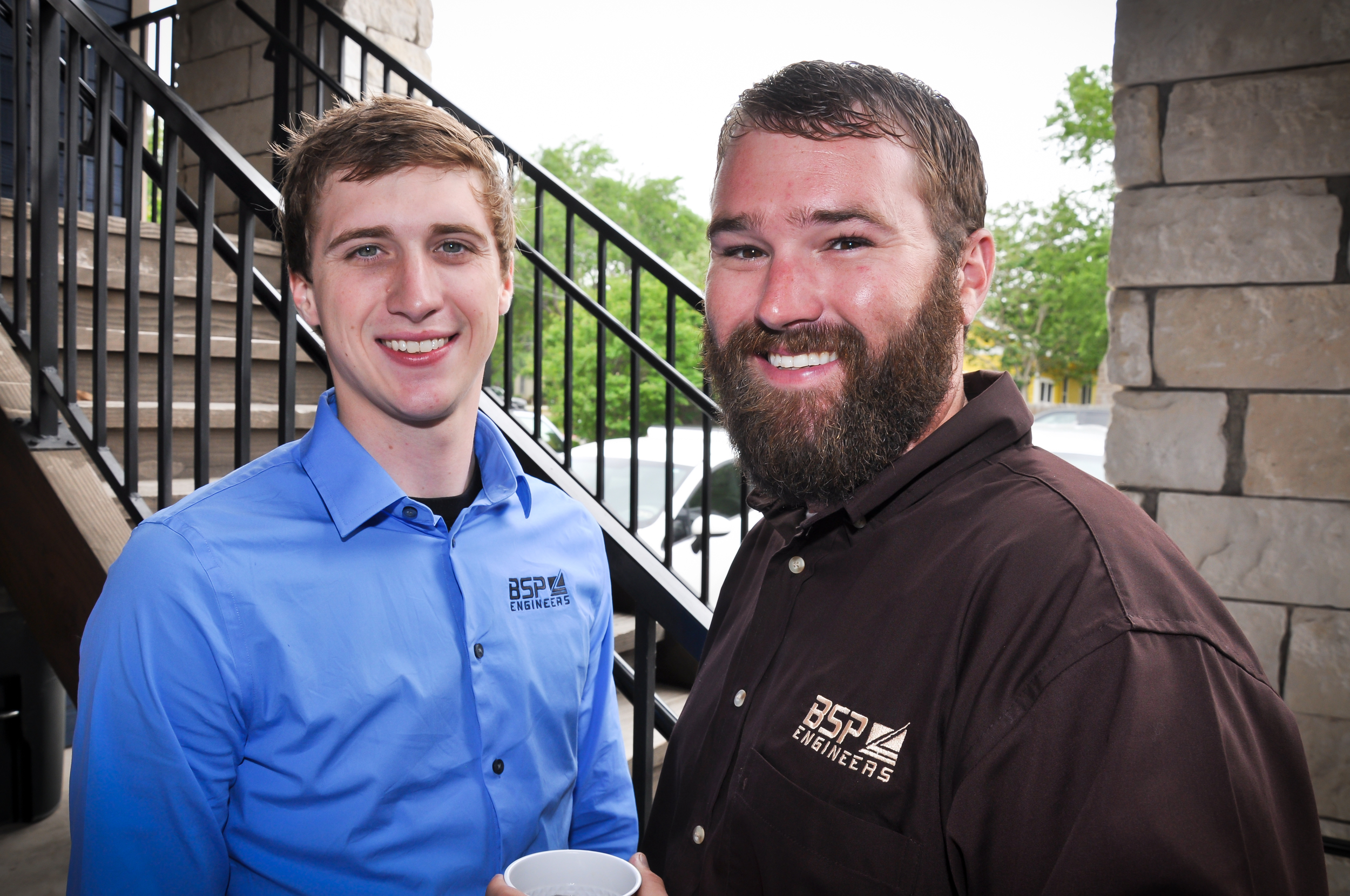 Michael Beach  (Left)  - GIS Analyst     Matt Beach  (Right)  - Survey Manager