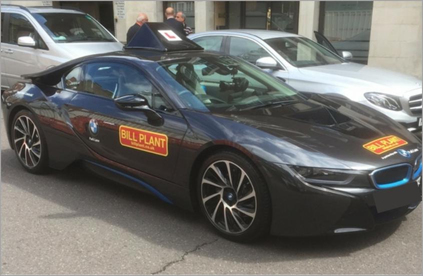 BMW i8 Hybrid Supercar