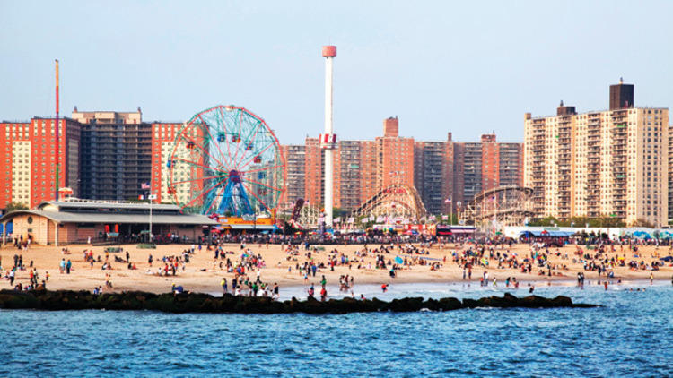 Coney Island, Brooklyn, NY  - Photography: Melissa Sinclair
